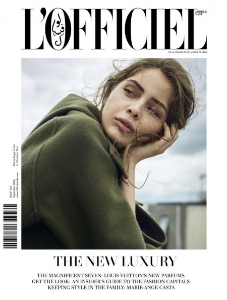 L'Officiel Middle East With Marie-Ange Casta